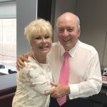 Di Morrissey with Alan Jones